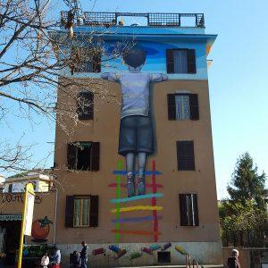Street Art Tor Marancia Rome - wall 3