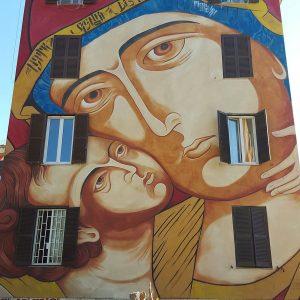 Street Art Tor Marancia Rome - wall 4