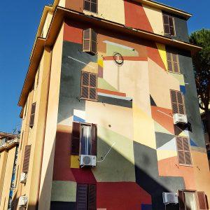 Tor Marancia street art Rome - wall 15