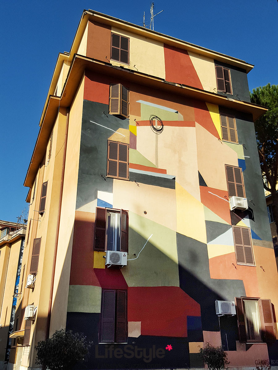 Tor Marancia - Amazing Street Art Project in Rome [20 Photos]
