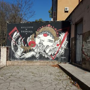 Tor Marancia Street Art - Big City Life Project in Rome
