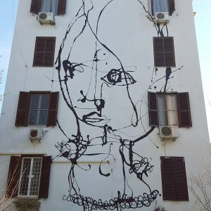 Tor Marancia Street Art Project in Rome - wall 16