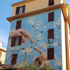 Tor Marancia street art - wall 15