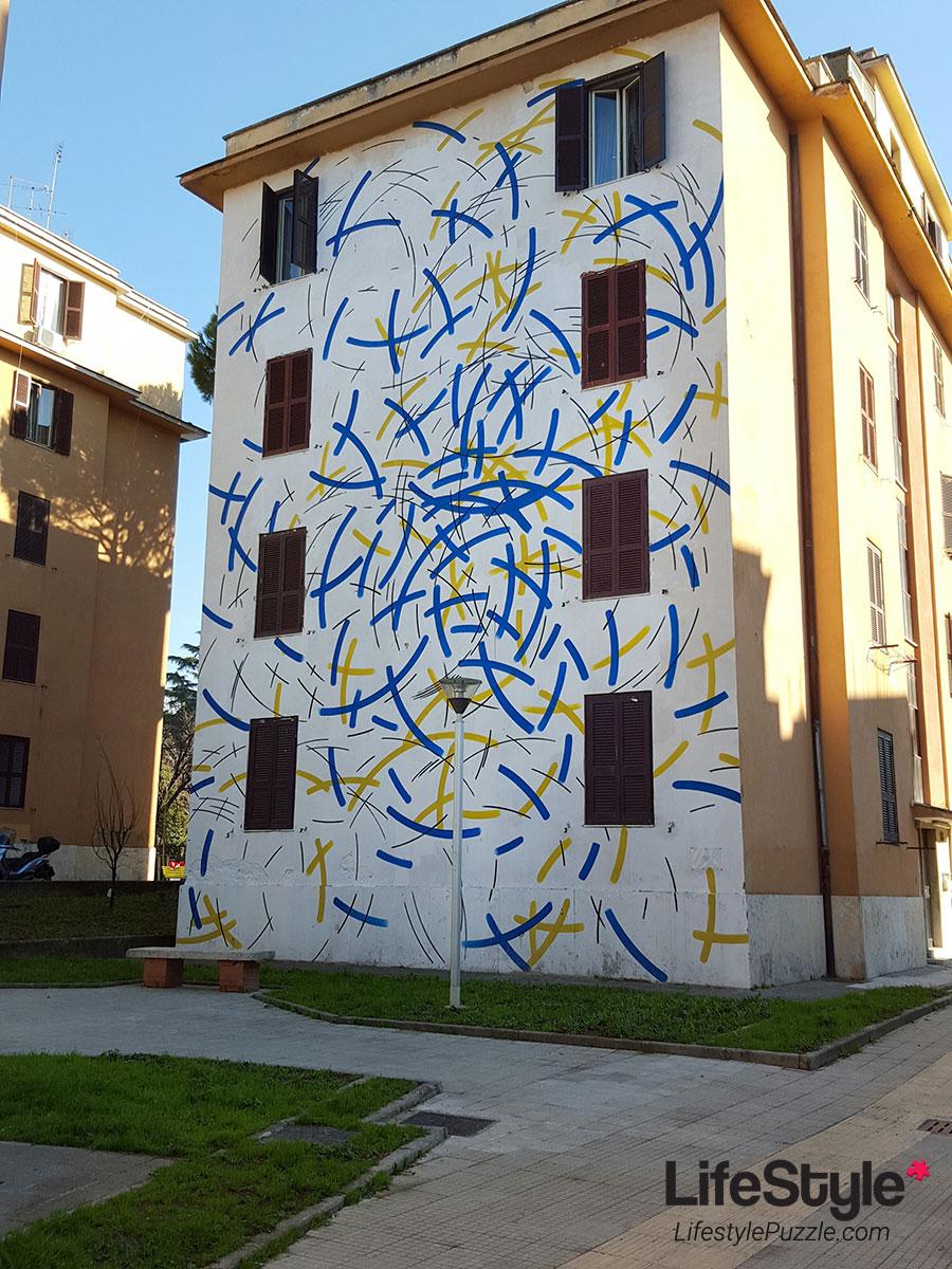 Tor Marancia street art - wall 18