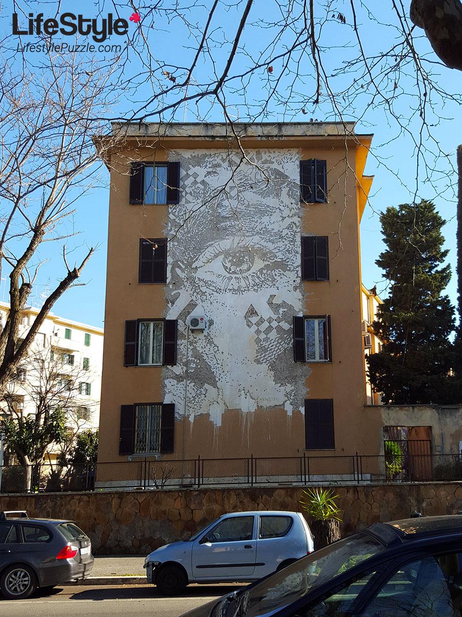 Tor Marancia street art -wall 2