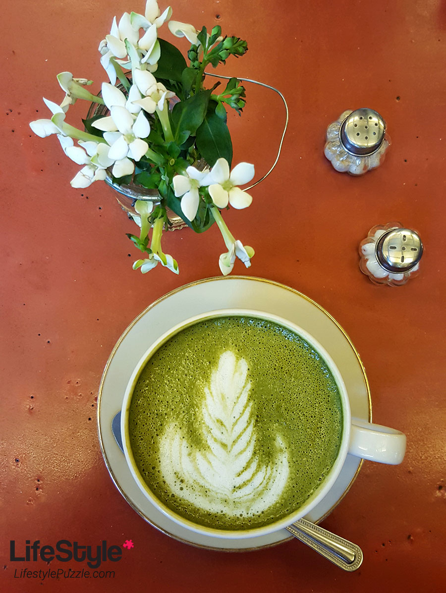 Matcha Latte Art - House of Small Wonders in Berlin