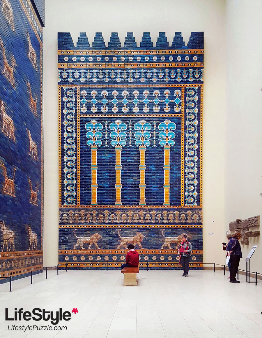 At the Gates of Babylon -Ishtar-Gate, Pergamon Museum