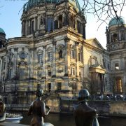 Berliner Dome and th DDR museum exhibits in Berlin