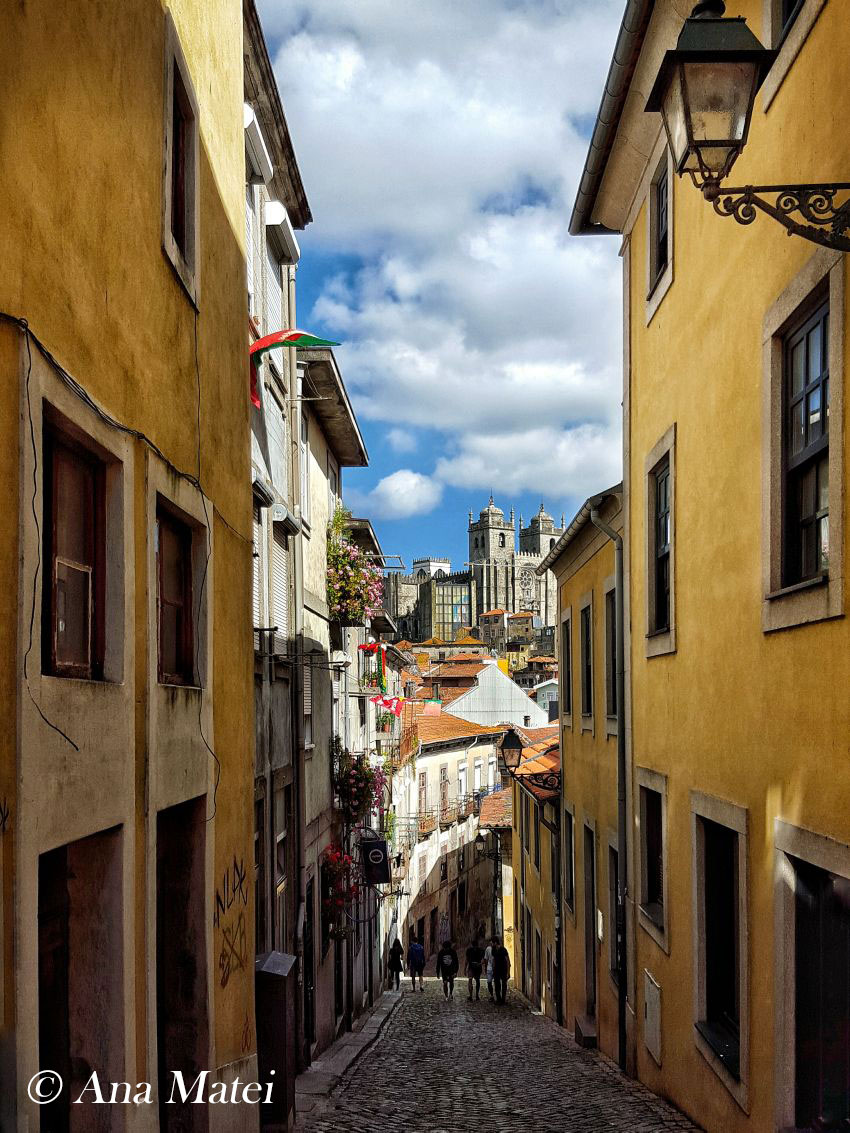 narrow-streets---Porto-Cathedral-view