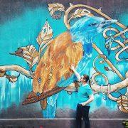 new-street-art-piece-in-Bucharest,-Romania