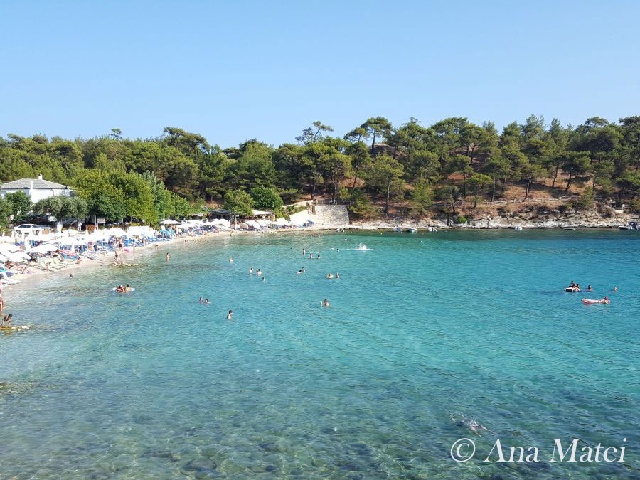Aliki Beach, Thassos Island, Greece