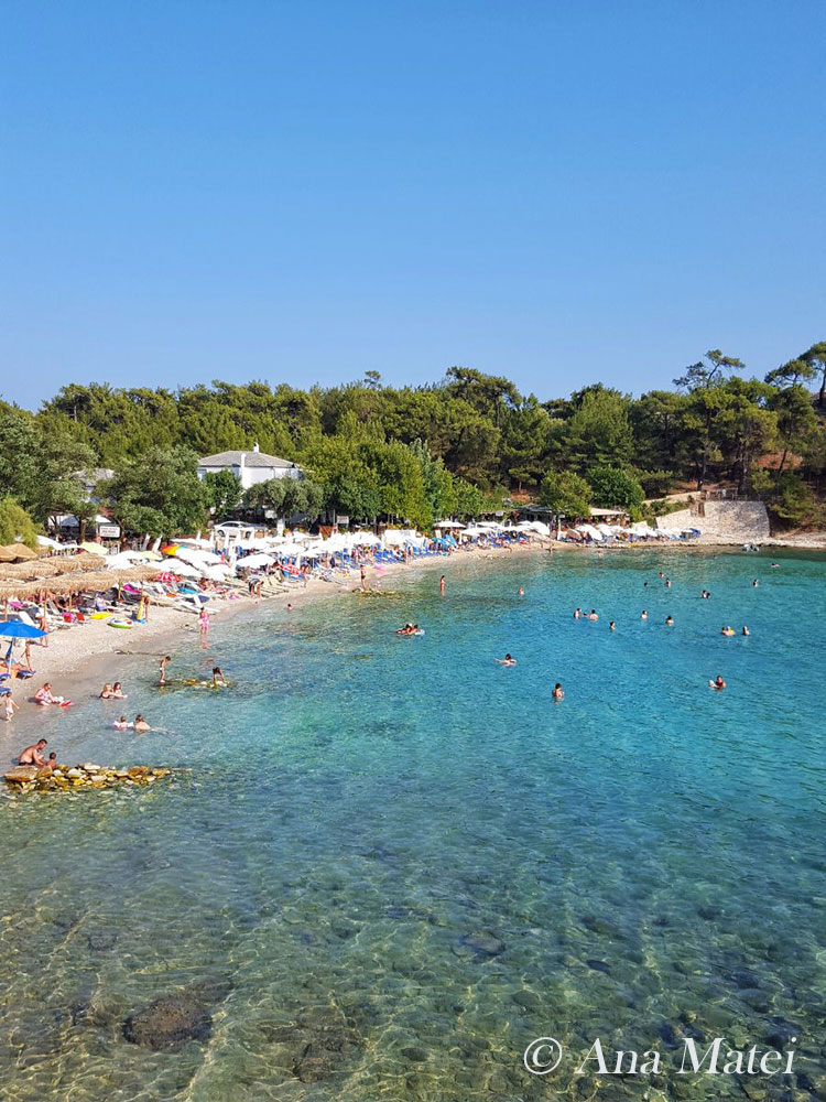 Aliki Beach,Thassos, Greece