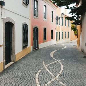Cascais, Portugal - Leading Lines and Narrow Streets