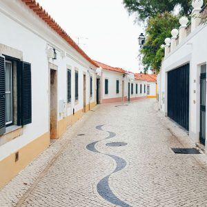 Cascais, Portugal - narrow streets and leading lines
