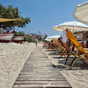 Limenaria Beach, Thassos, Greece