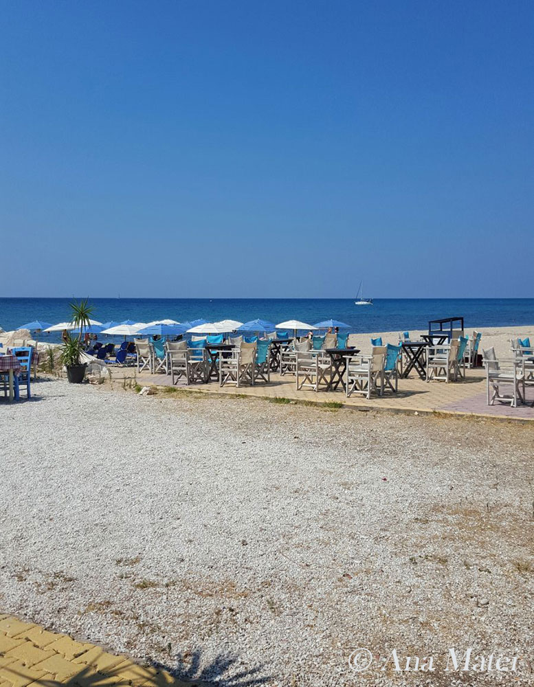 Limenaria Beach in Thassos,Greece