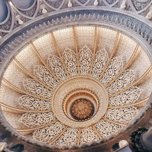Monserrate-Palace-Sintra---ceiling-architecture