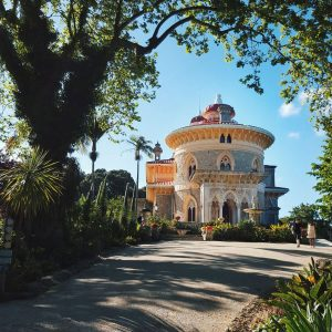 Monserrate-Palace-in-Sintra,-Portugal