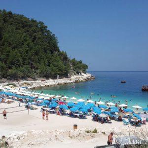 Porto-Vathy-Marble-Beach,-Thassos,-Greece
