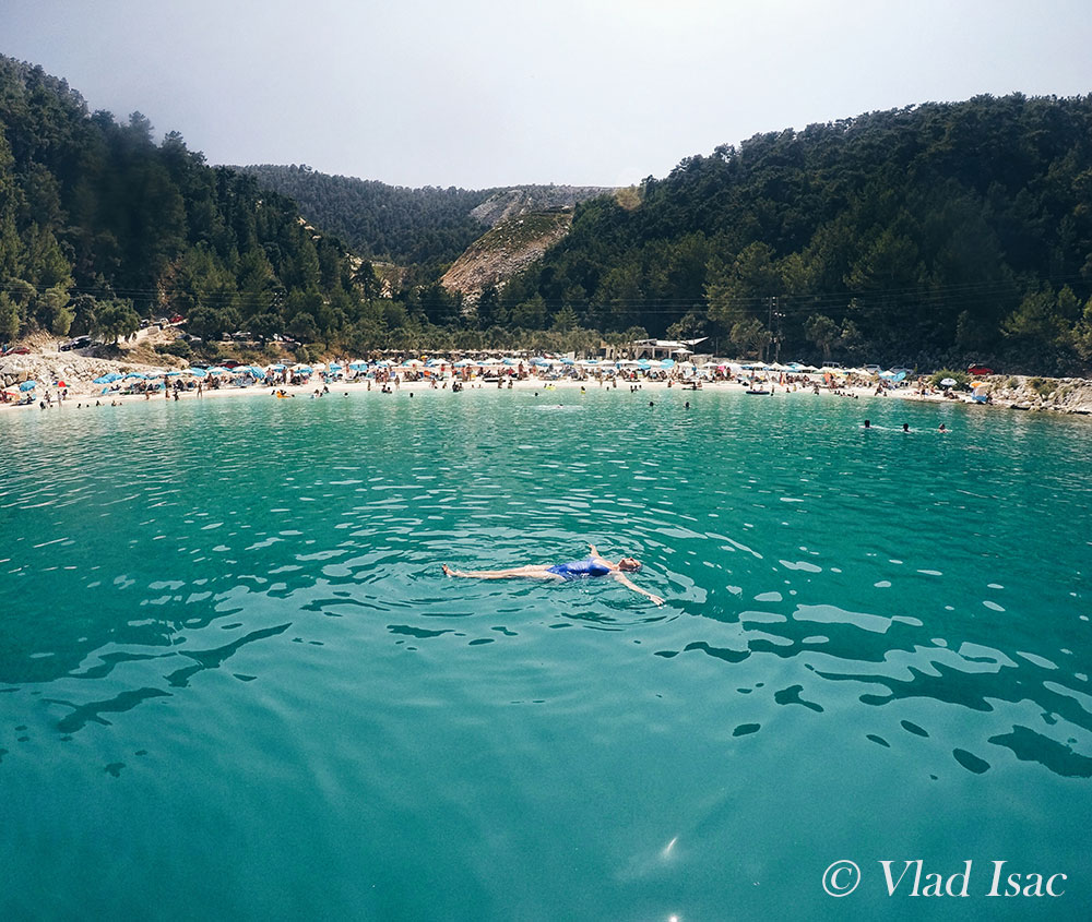 Beach: Thassos Beaches, Turquoise Dreams At The Aegean Sea [Photos]