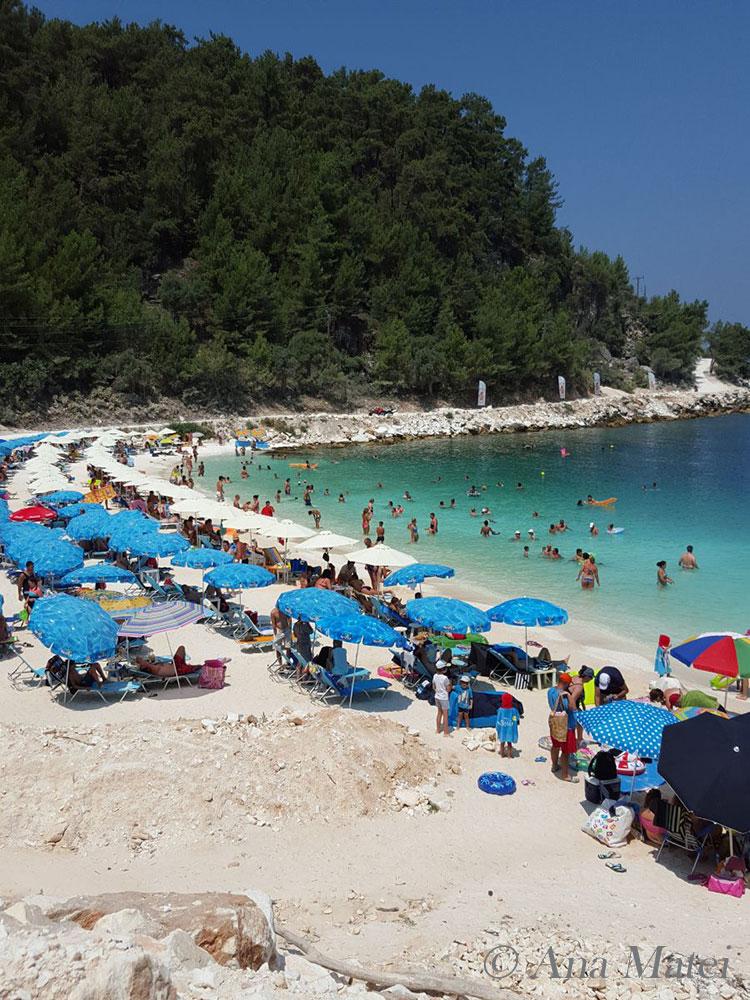 Porto Vathy Marble Beach, Thassos, Greece