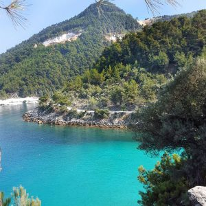 Saliara Marble Beach, Thassos, Greece,-Aegean-Sea