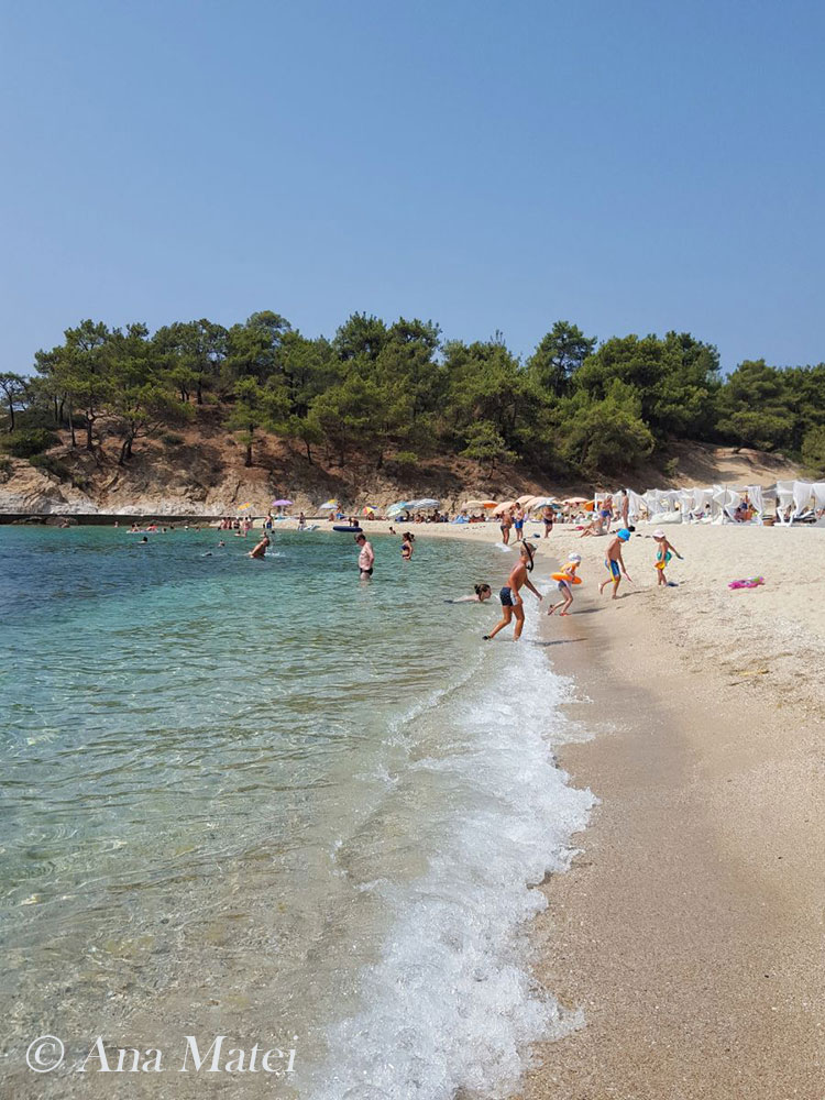 Trypiti Beach, Thassos Island, Greece