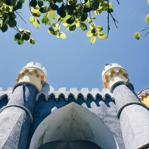 looking-up-Pena-Palace-Sintra