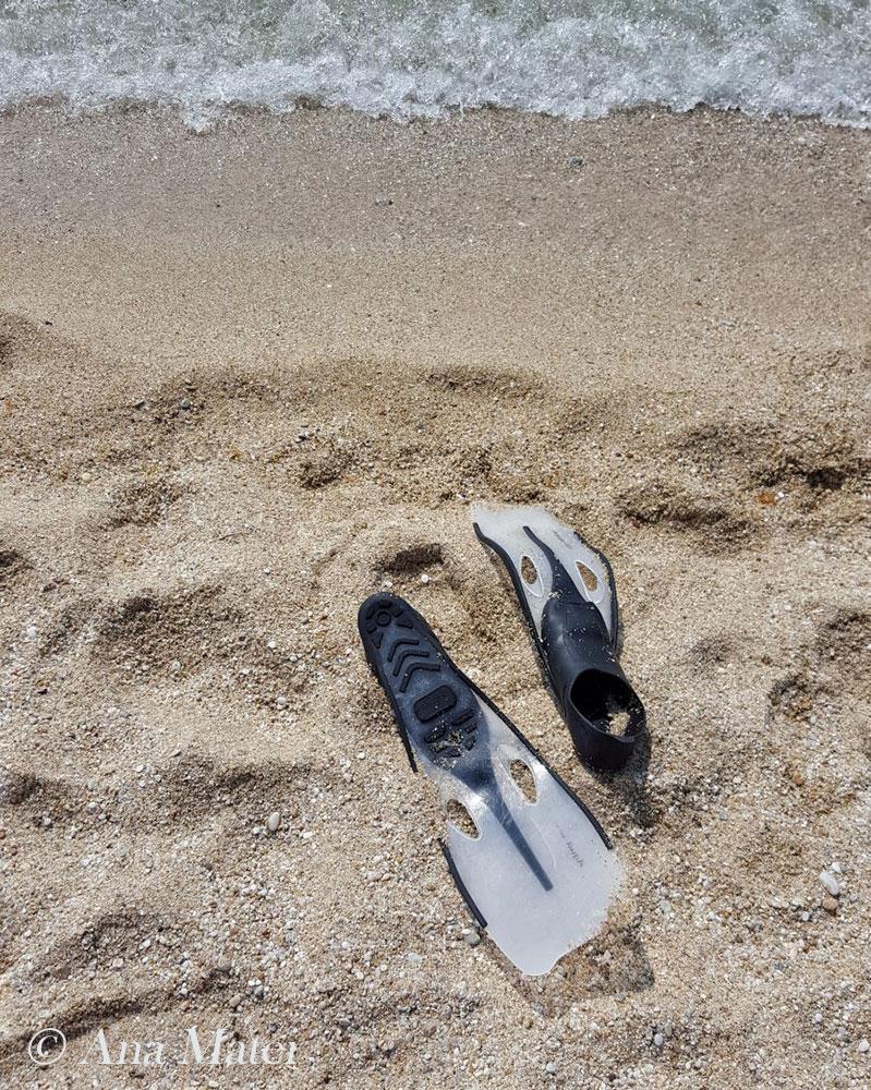 snorkeling, Trypiti Beach, Thassos, Greece