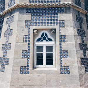 window-and-azulejos-at-Pena-Palace,-Sintra