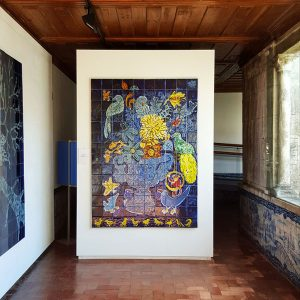 Azulejos-Museum-Lisbon,-Portugal