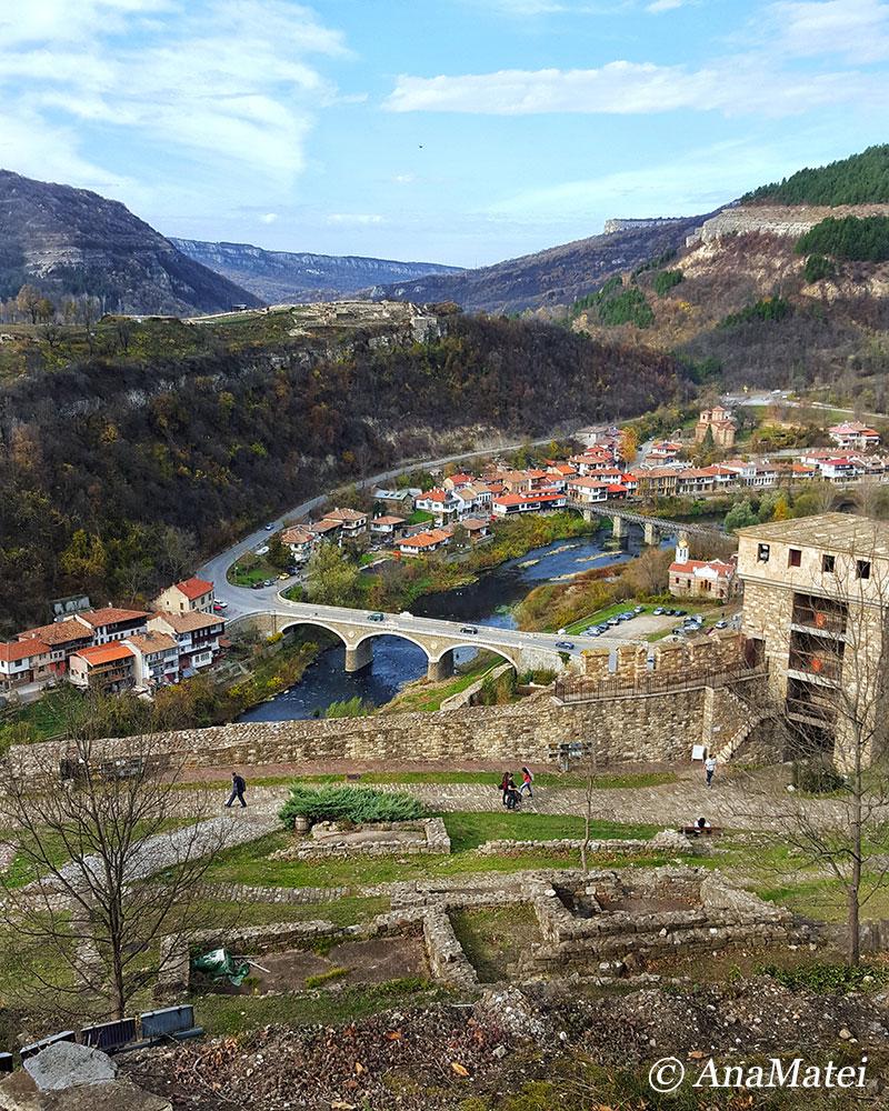 Veliko Tarnovo panoram from Tsarevets Fortress