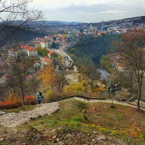 Veliko Tarnovo panorama from Tsaravets Fortress