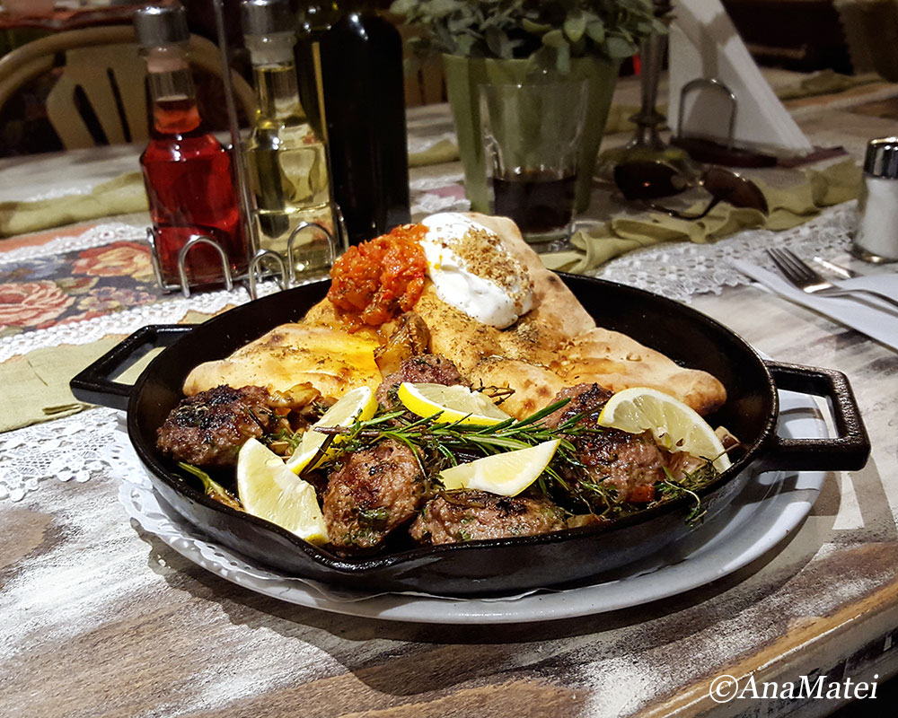 lamb-and-veal-meatballs-on-a-hot-lava-pan-in-bulgaria