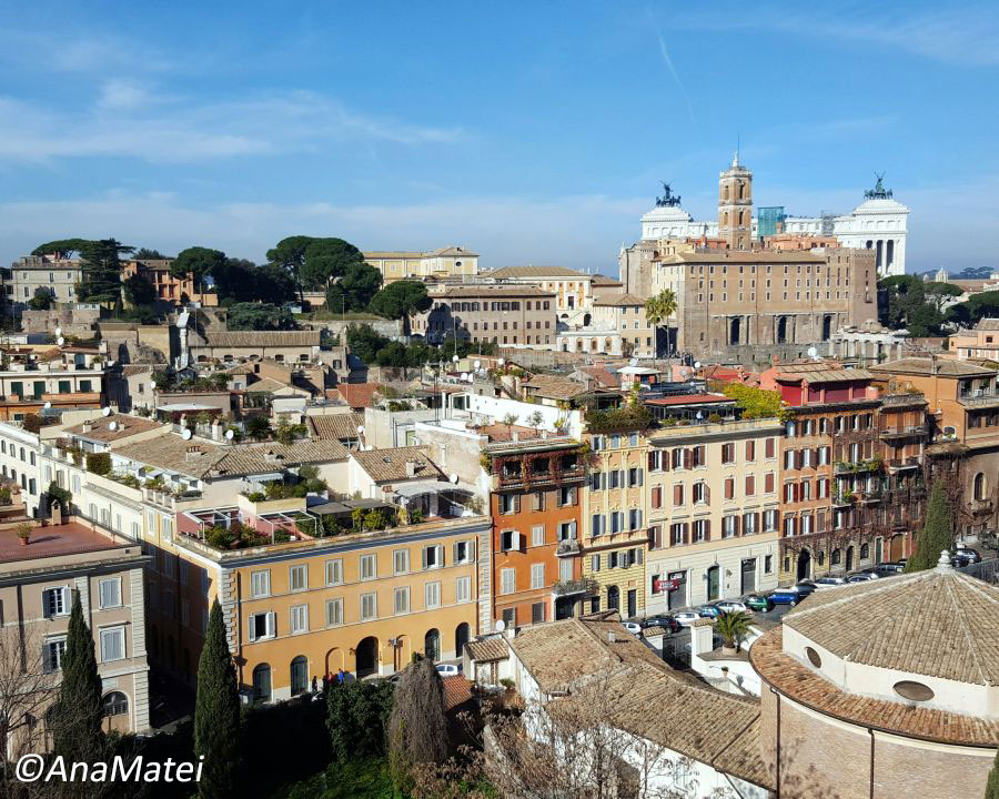 Rome-from-above-view-of-Forum-Traiani