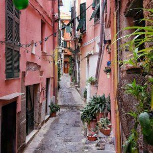 Vernazza,-Cinque-Terre---pink-streets