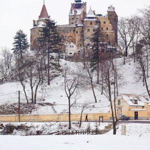 Bran-Castle-Romania---Dracula-s-Castle-in-Transylvania,-Romania