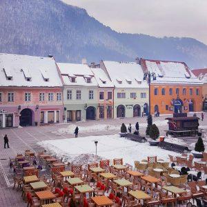 Brasov---room-view-over-Piata-Sfatului