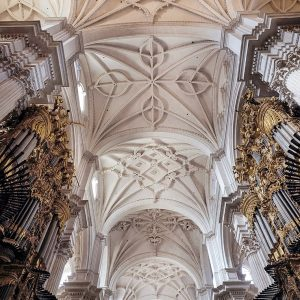 Granada-Cathedral---architecture---ceiling