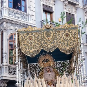 Holy-Week-in-Granada,-Andalucia
