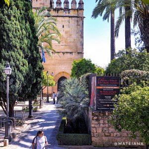 Alcazar-de-los-Reyes-Cristianos-in-Cordoba,-Andalusia