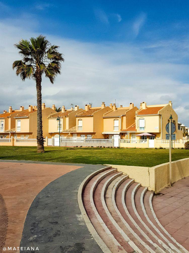 Malaga beach houses