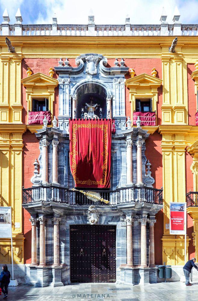 Episcopal Palace Malaga - facade