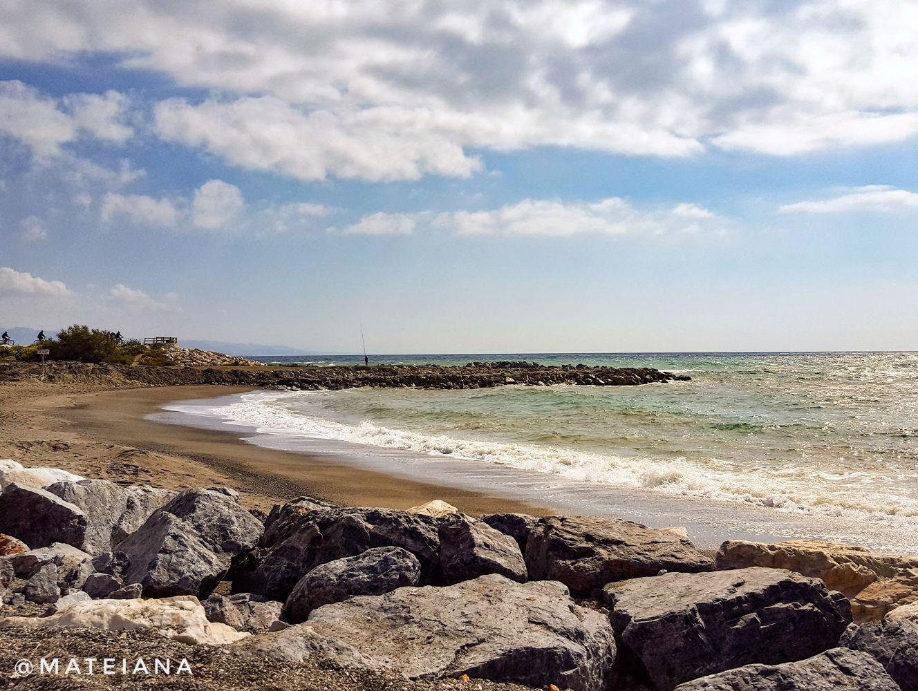 Guadalmar Beach Malaga, Spain