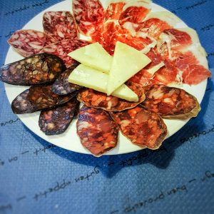 Spanish-Meat-Specialties-in-Cordoba,-Spain