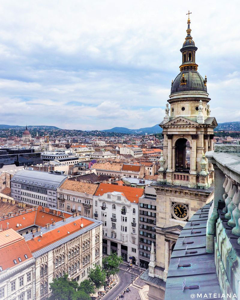 St. Stephen s Basilica Budapest - panoramic view