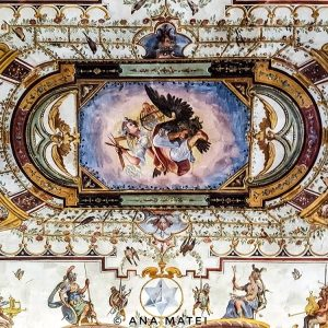 Uffizi-Gallery---ceiling-fresco-1
