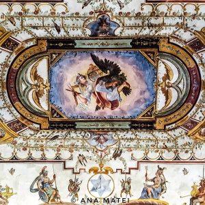 Uffizi-Gallery---ceiling-fresco-1