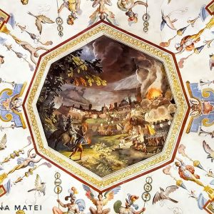 Uffizi-Gallery--ceiling-fresco-2