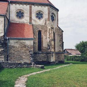 Carta-Cistercian-Abbey-Sibiu,-Romania